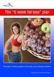 6 week fat loss plan